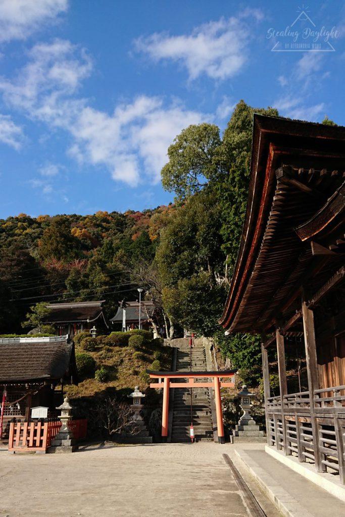 白鬚神社上の宮