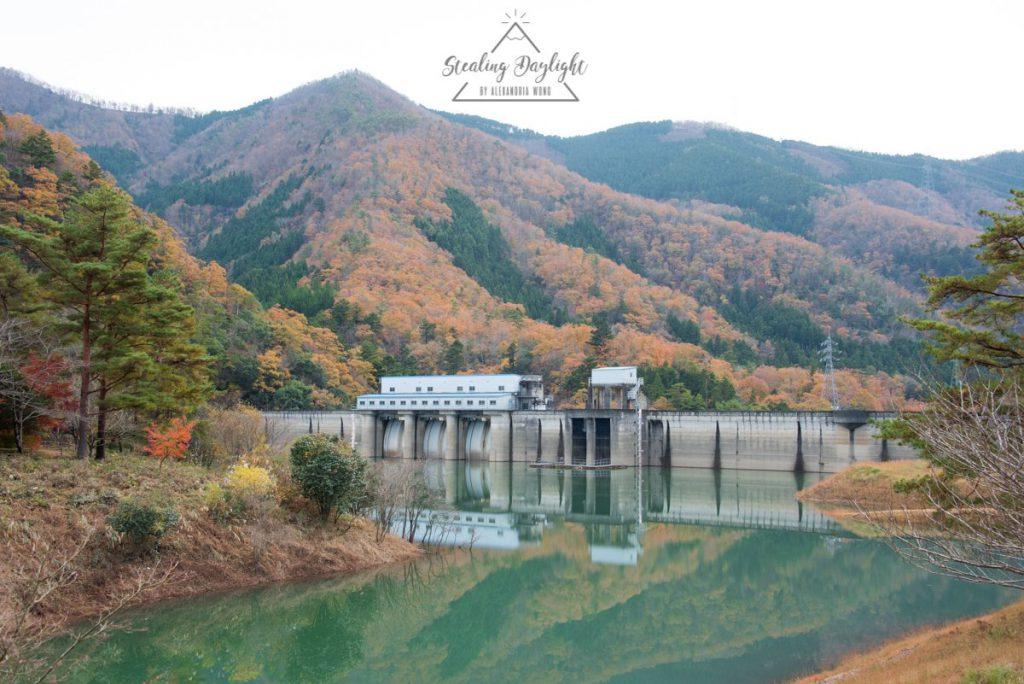 美山町 大野水壩
