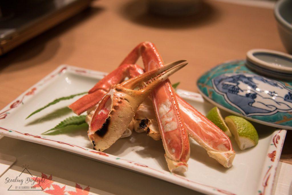 天橋立 文珠莊 夕食