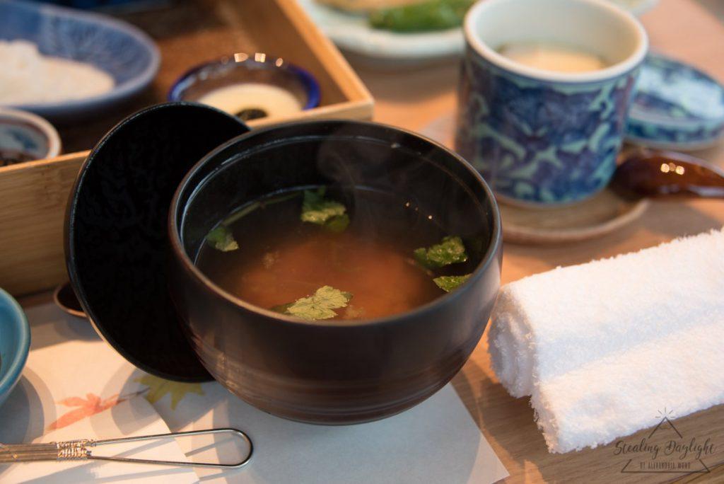 天橋立 文珠莊 朝食