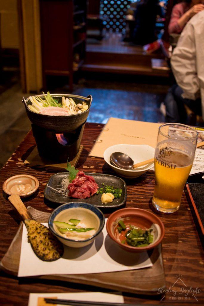 みよ田 松本店 蕎麥麵 馬肉刺身