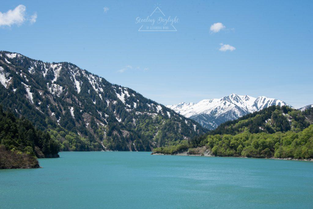 立山黑部 阿爾卑斯山脈路線 黑部大壩 黑部水庫