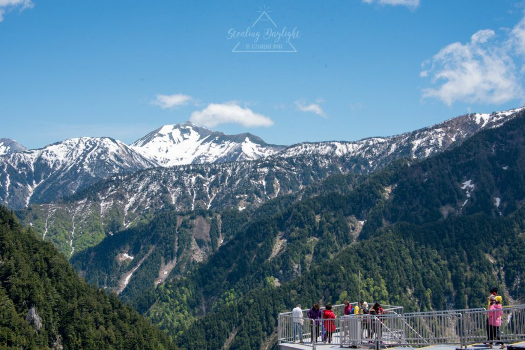 立山黑部 阿爾卑斯山脈路線 黑部平