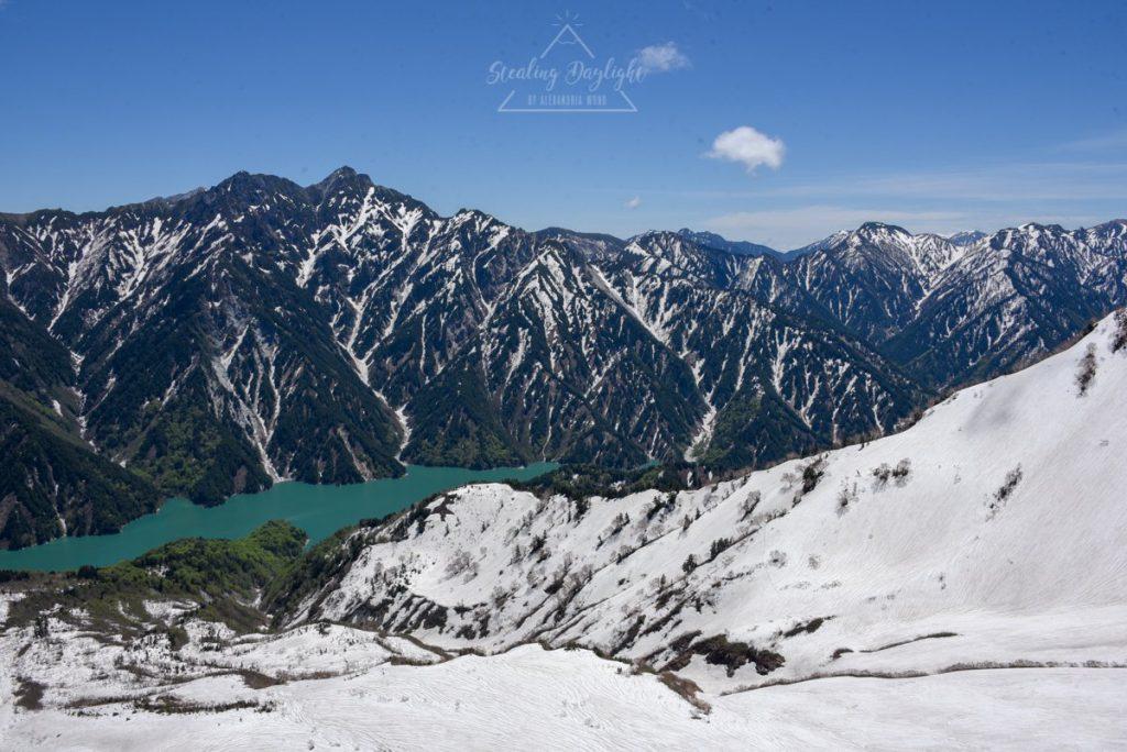 立山黑部 阿爾卑斯山脈路線 大觀峰