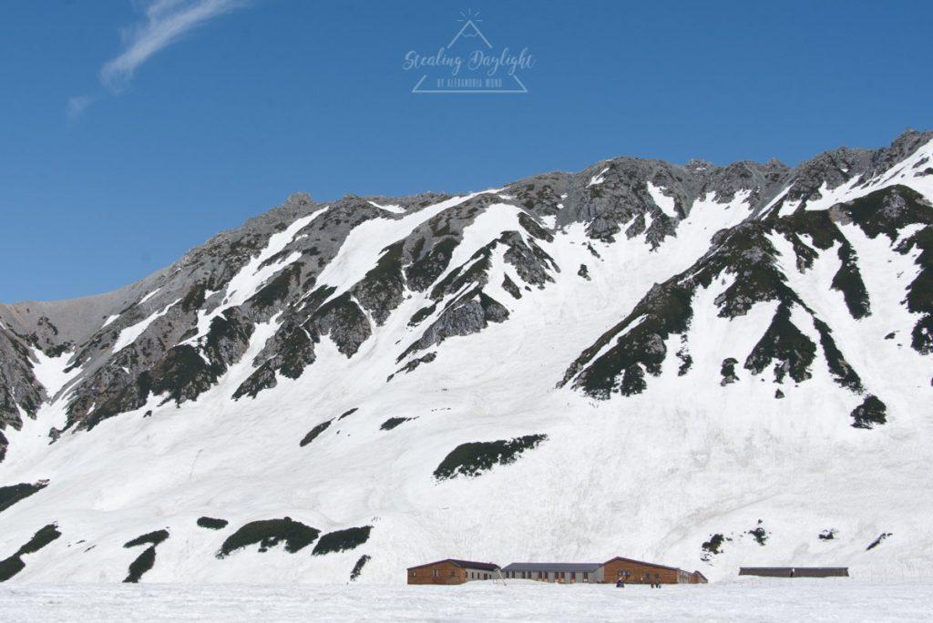 立山黑部 阿爾卑斯山脈路線 室堂