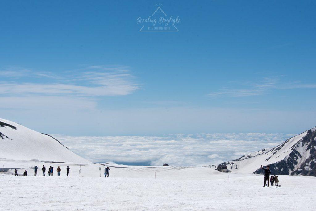 立山黑部 阿爾卑斯山脈路線 室堂 雲海