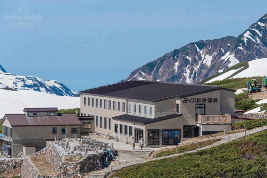 立山黑部 阿爾卑斯山脈路線 みくりが池温泉