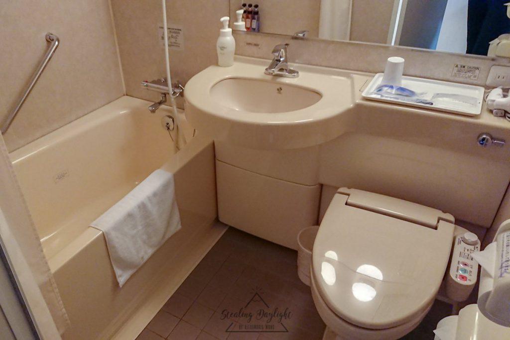 富山 Daiwa Roynet 酒店 浴室