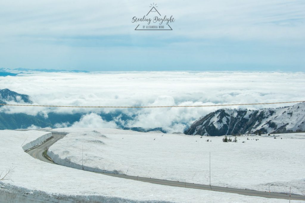 立山黑部 阿爾卑斯山脈路線