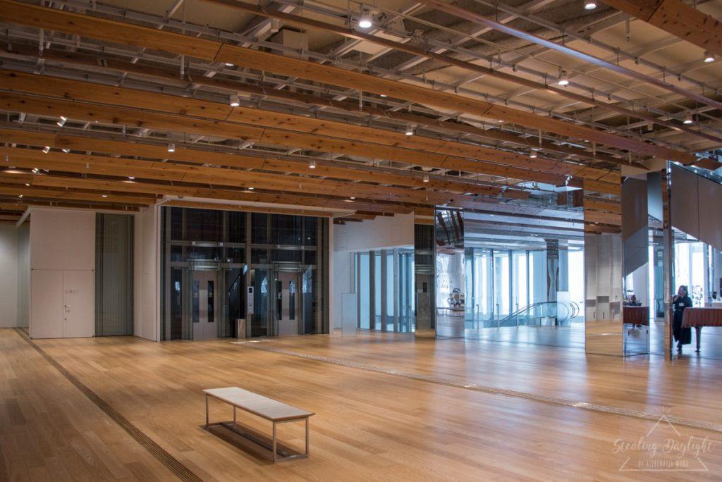 富山市玻璃美術館 富山市ガラス美術館 大堂
