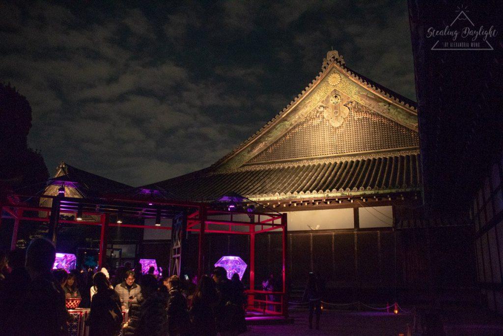 京都 二條城 Art Aquarium 金魚展