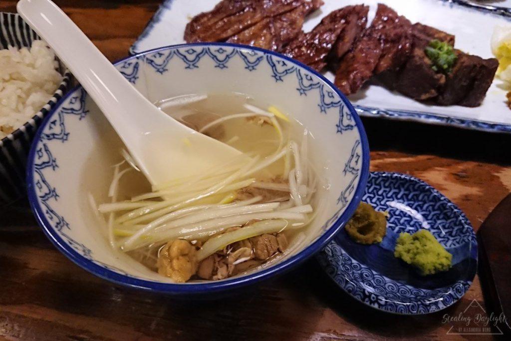 仙台 東山本店 牛舌三昧定食