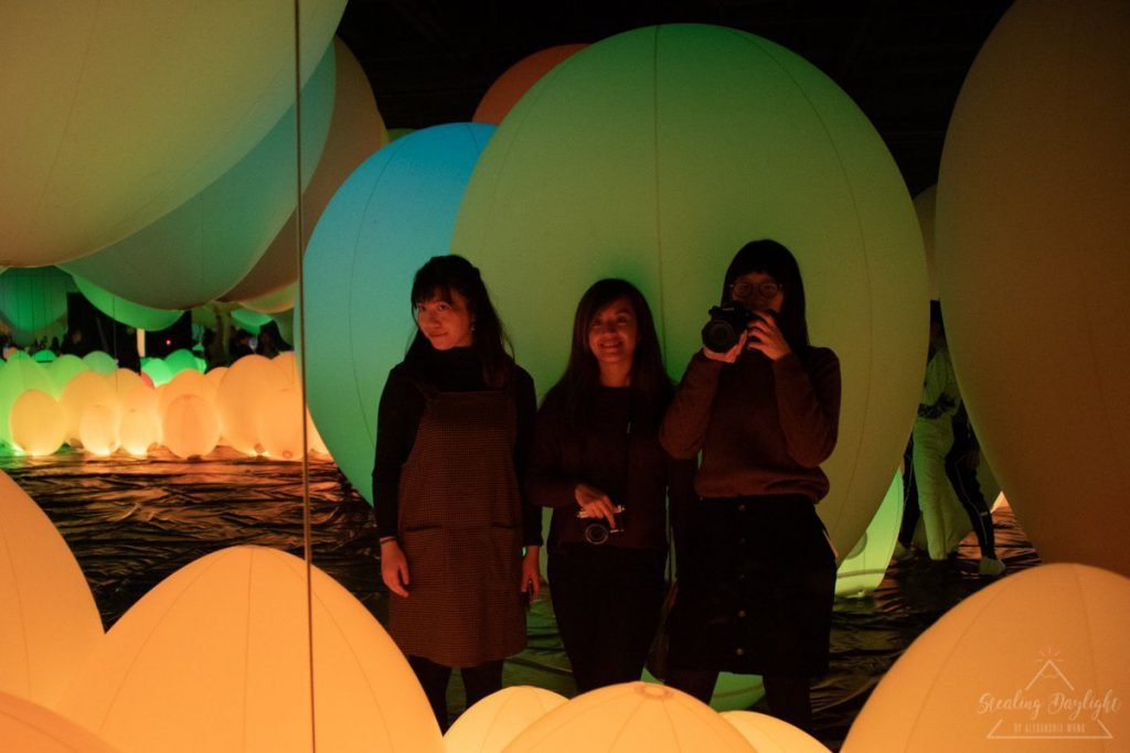 東京 台場 teamLab Borderless