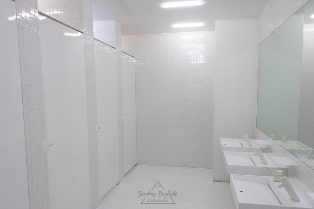 青森縣立美術館 洗手間