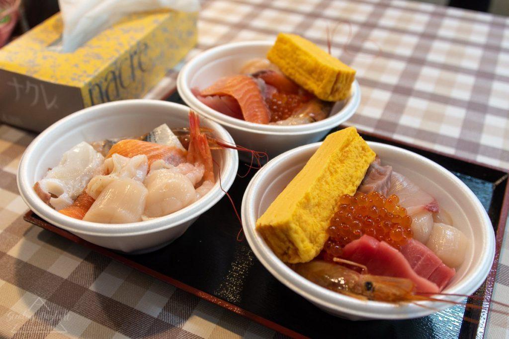 青森 古川市場 のっけ丼