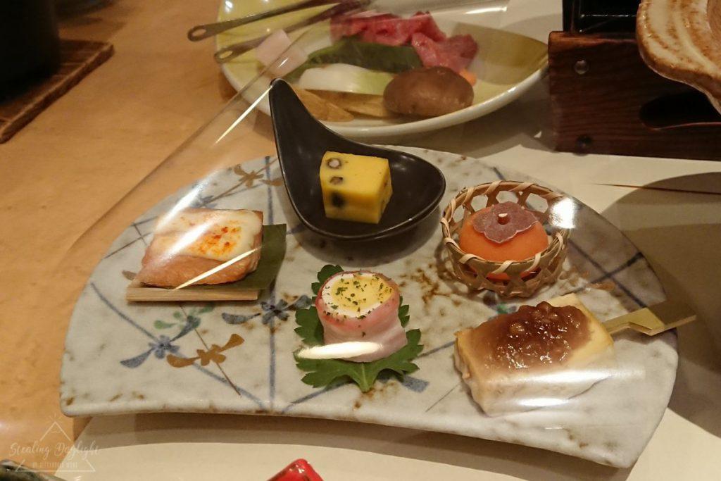 山形 藏王溫泉 藏王四季酒店 晚餐 夕食