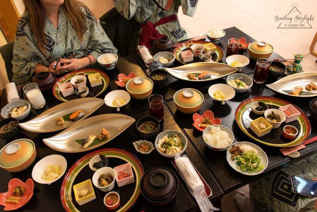 山形 銀山溫泉 瀧見館 早餐 朝食