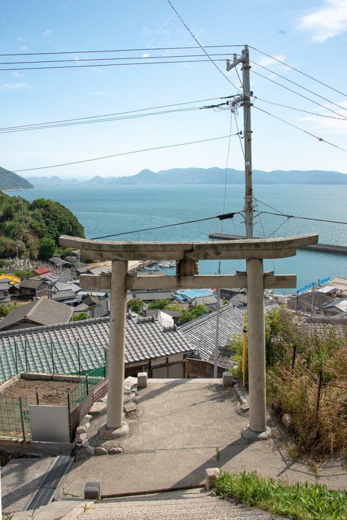 香川 男木島 豐玉姬神社