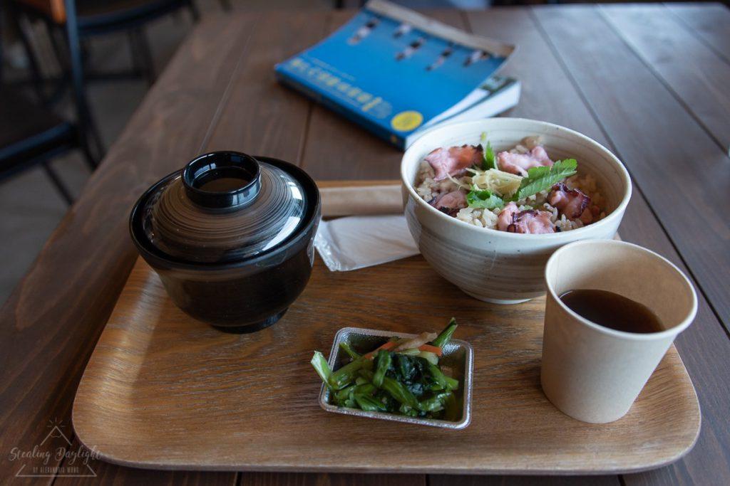 岡山 犬島 章魚飯 タコ飯